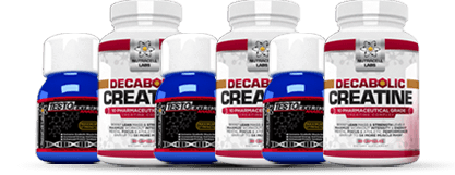 Testo Alabolic Extreme and Decabolic Creatine Value Bottles