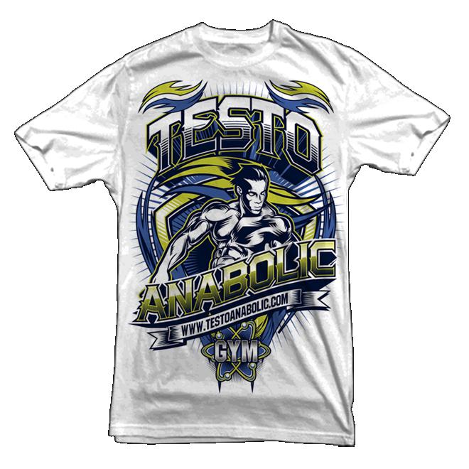 testo anabolic extreme t-shirt